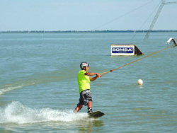 Wakeboarden am Balaton