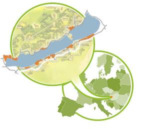 karte topographie europa