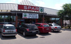 ungarn zalakaros supermarkt